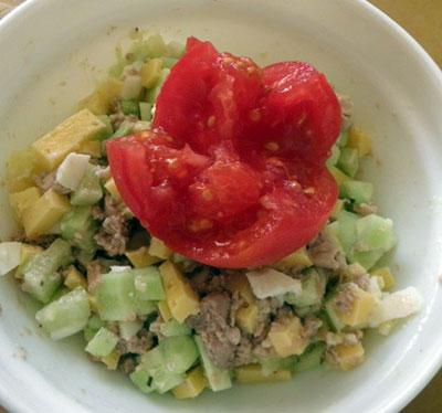 рецепты салатов при диете 5